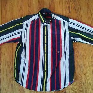 Vintage Tommy Hilfiger Multicolor button-up